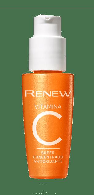 vitamina c e o produto para a sua pele